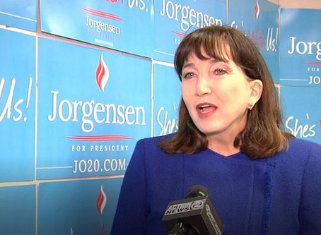 Dr. Jo Jorgensen - A Refreshing Choice for Washington State Voters