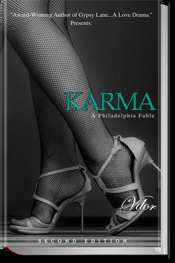 hardbackfront 3d book KARMA