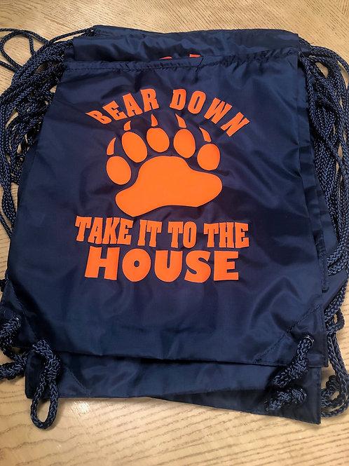 BEAR DOWN Drawstring Backpack