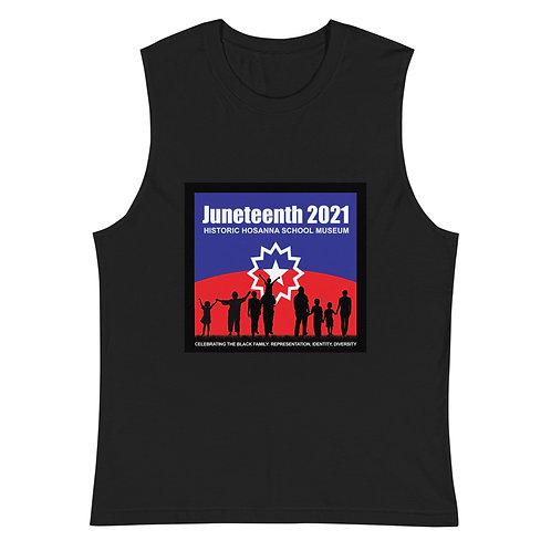 Juneteenth 2021 Muscle Shirt