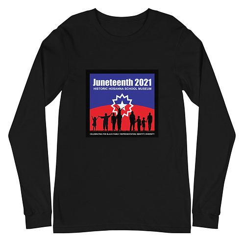 Juneteenth 2021 Unisex Long Sleeve Tee