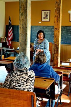 Executive Director Barnes giving a presentation