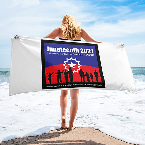 Juneteenth 2021 Towel