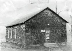 Hosanna School 1980, before second-floor restoration
