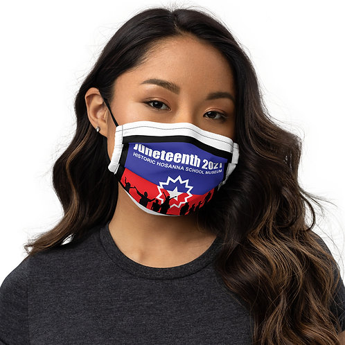 Juneteenth 2021 Premium face mask