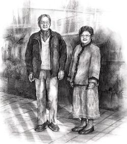 父母の肖像