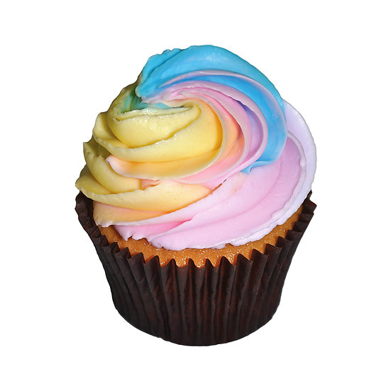 C502 Pastel Swirl Cupcake