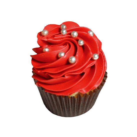 C506 Mini Red Cupcake