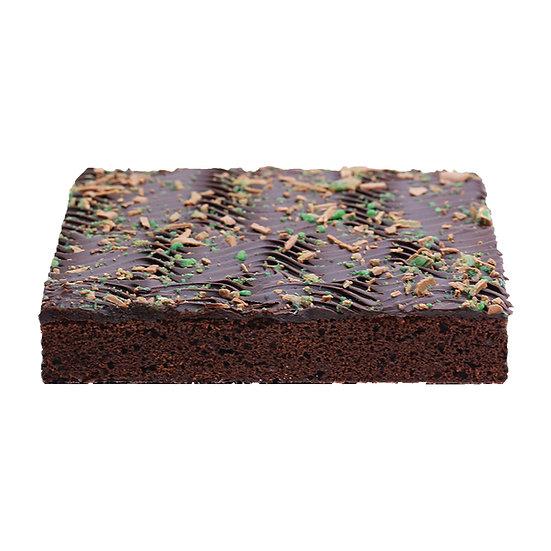 C605 Choc Mint Slab Cake