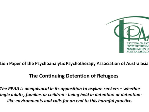 Refugee Position Paper from the PPAA