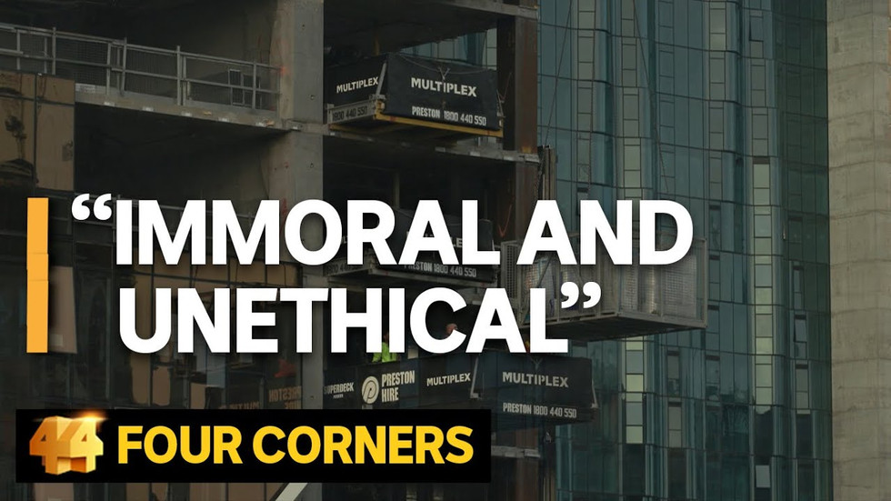 """""""Immoral and unethical"""" 