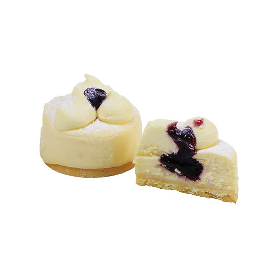 C323 Blueberry Individual Cheesecake