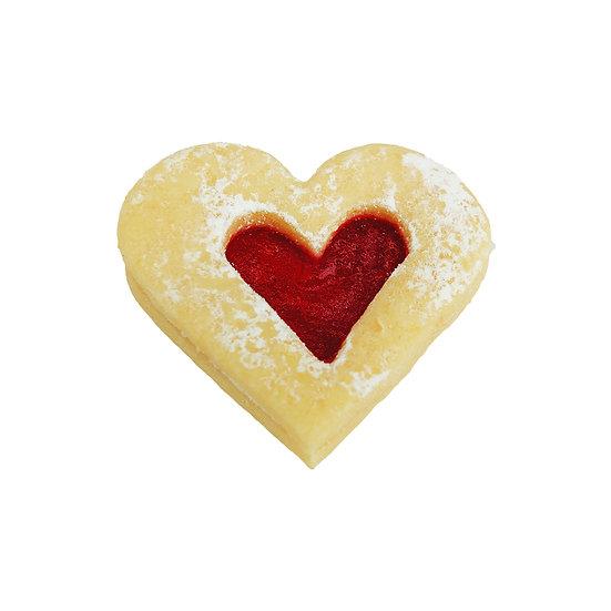 B110 Jam Heart Biscuit