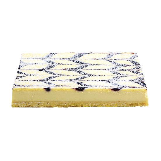C607 Blueberry Cheesecake Baked Slab Cake