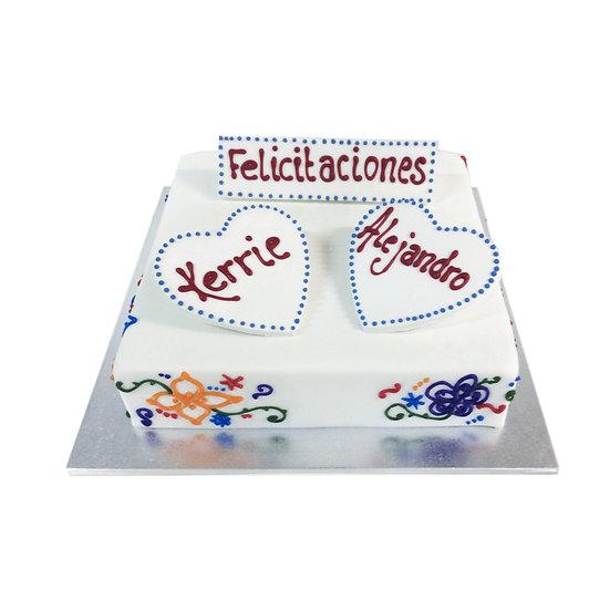 W135 Wedding Cake