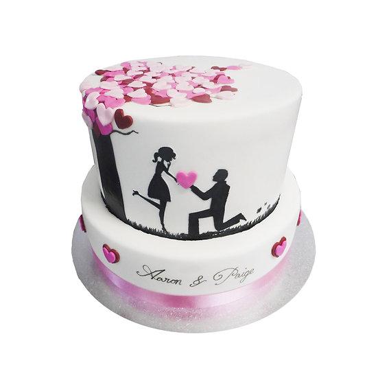 W101 Wedding Cake