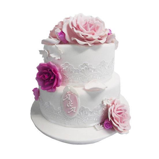 W102 Wedding Cake