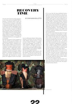 Fashion trend magazine