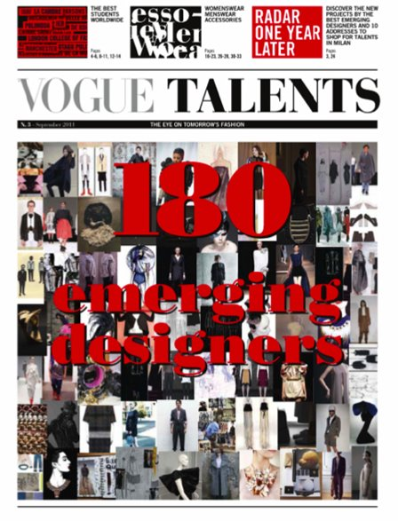 Vogue Talents September 2011