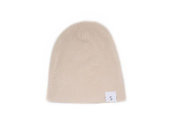 Stelly Handmade Ribbed Beanie