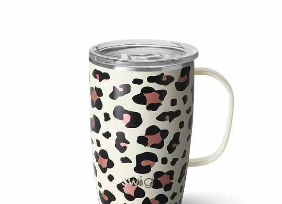 Swig Life Luxy Leopard 18oz Travel Mug