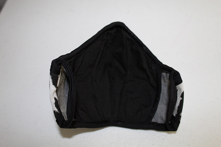 Face Mask with interface and pocket for filter