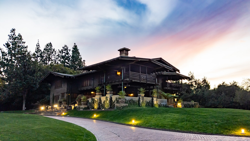 Gamble House/Doc Brown's House in Pasadena