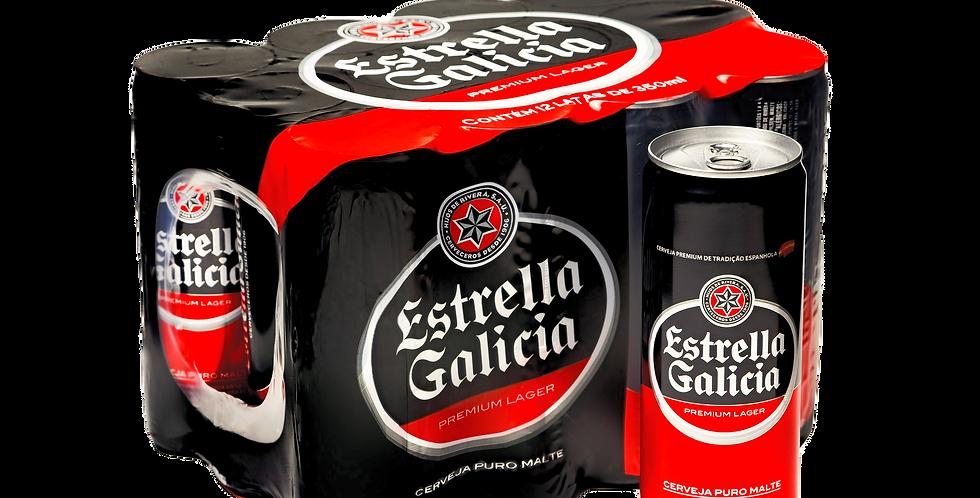 Estrella Galicia Lata 350ML Pack 12 Unidades