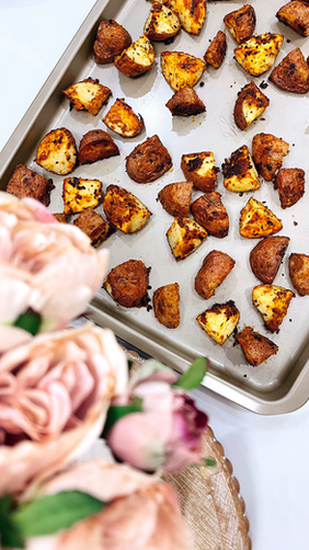 Nabela's Spicy Roasted Potatoes