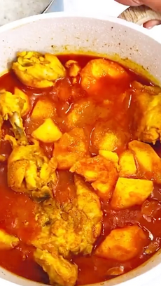 Mama Noor's Chicken Curry