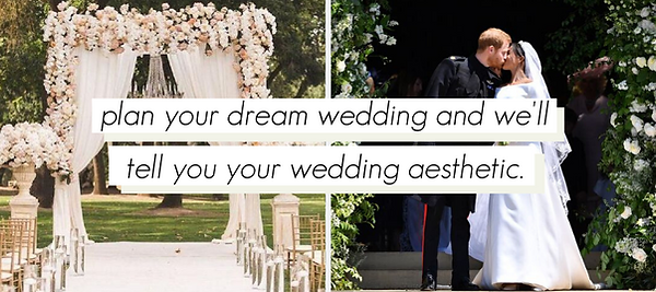 Wedding Aesthetic Quiz