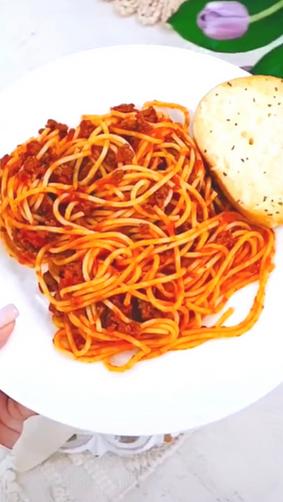 Nabela's Spicy Spaghetti