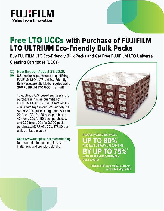 Fujifilm ECO-Friendly Promotion July 202