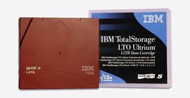 IBM LTO 5 Tapes - LTO Ultrium 5 Tape Data Cartridge - 1.5TB/3.0TB Compressed (IB
