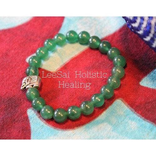Green Aventurine Reiki Attuned Chakra Healing Bracelet