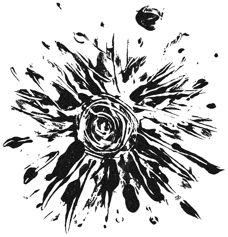 Screen print artwork
