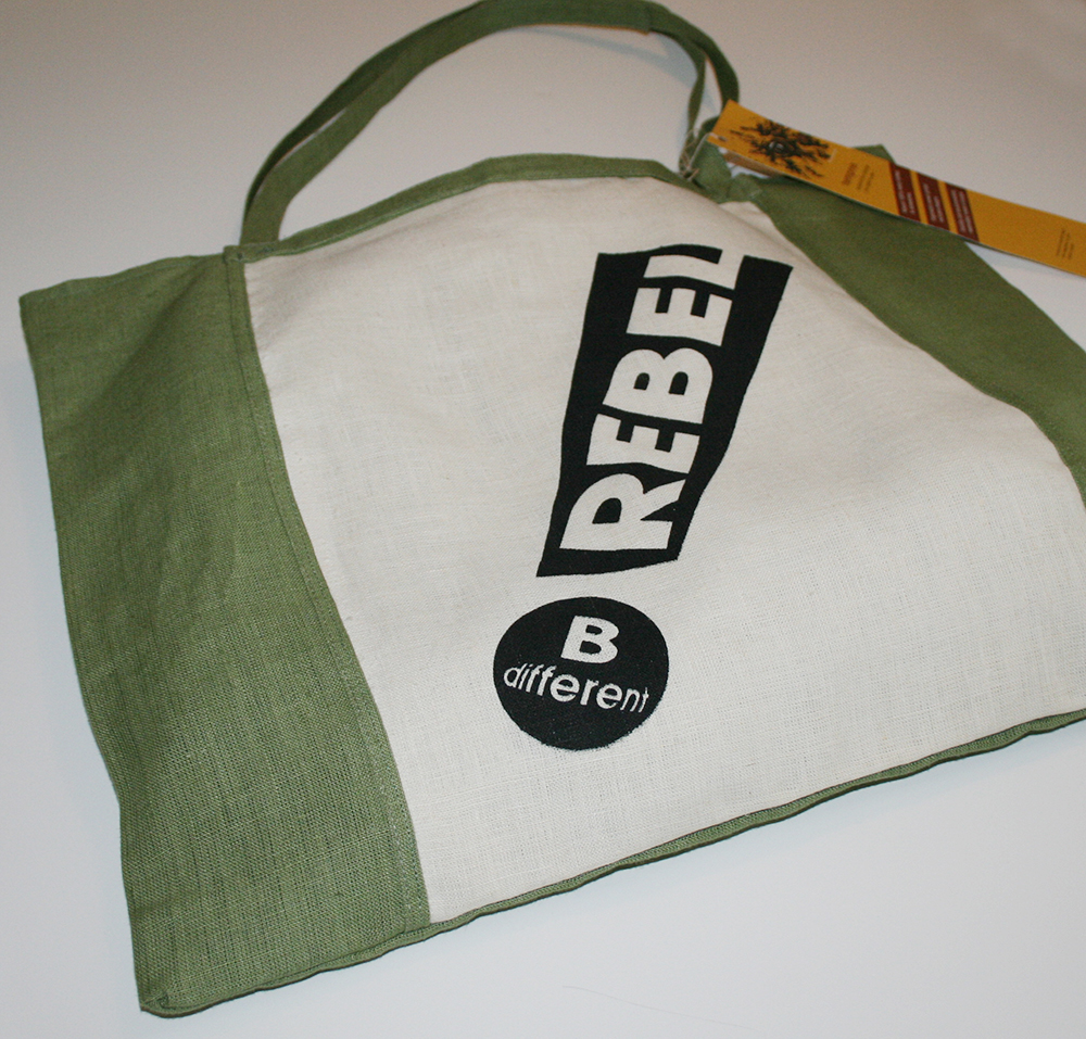 Design hemp rebel bag