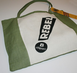 Hemp Rebel shopping bag