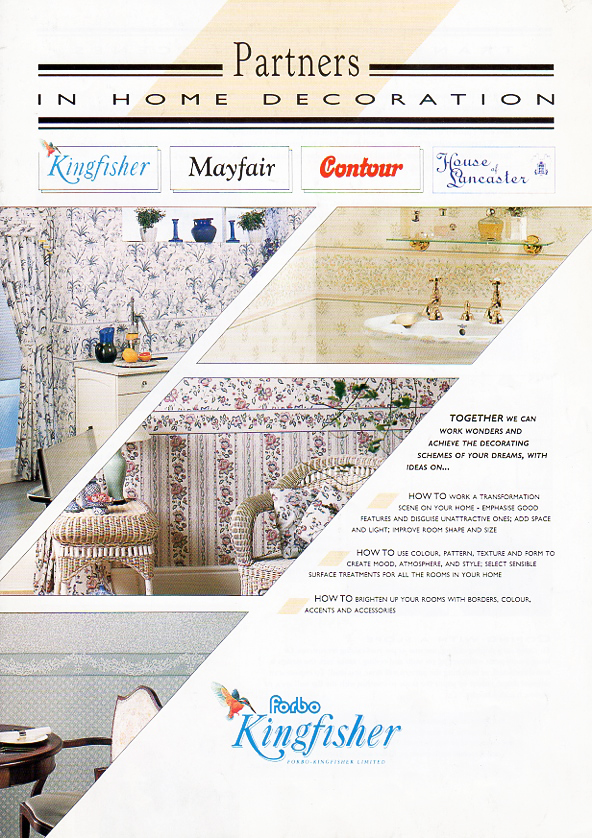 Brochure on home decorating