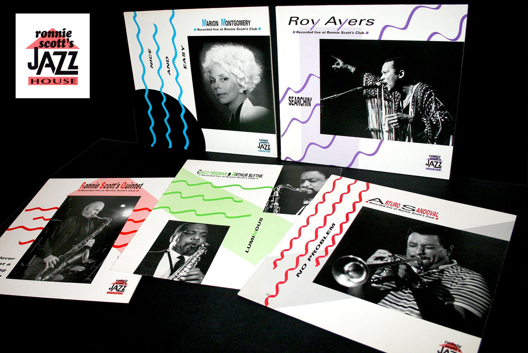 Album series Ronnie Scott's Jazz