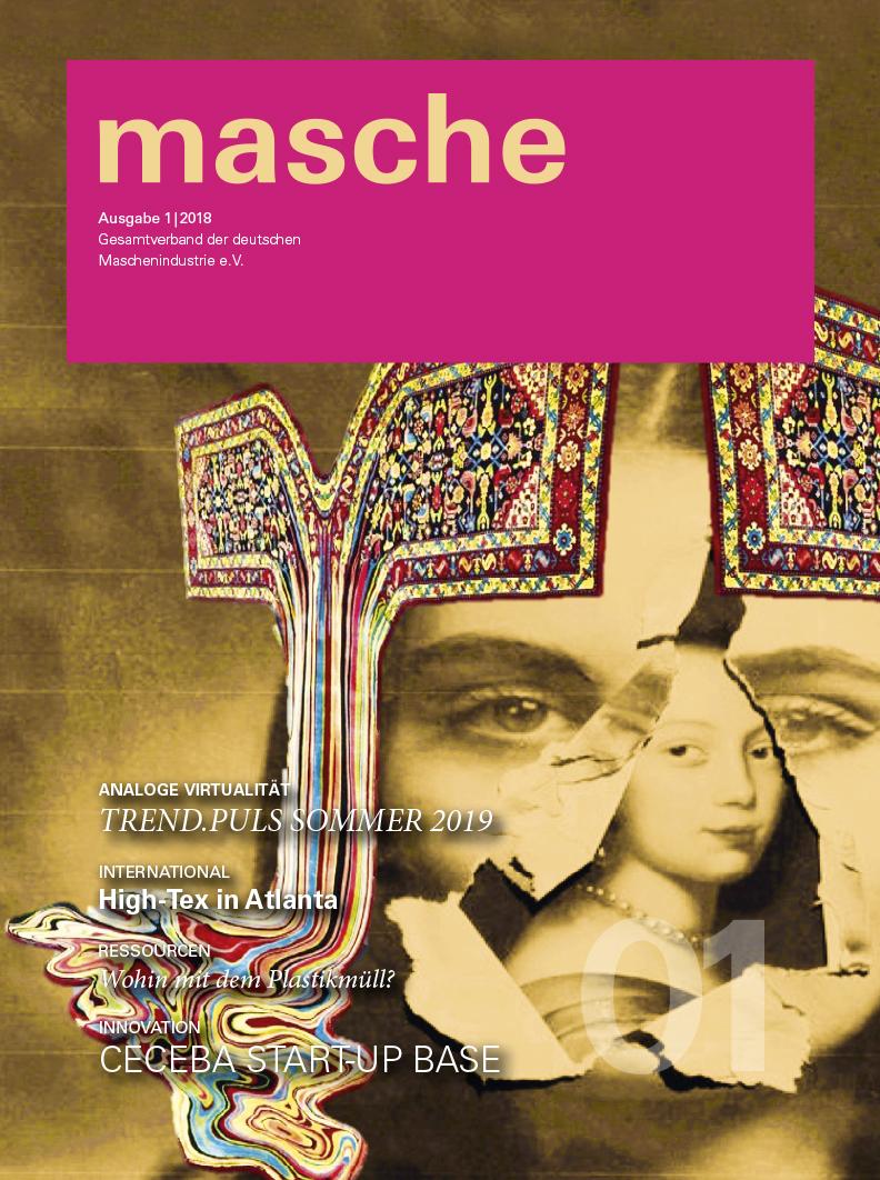Magazintitel 'masche' Ausgabe 1/2018