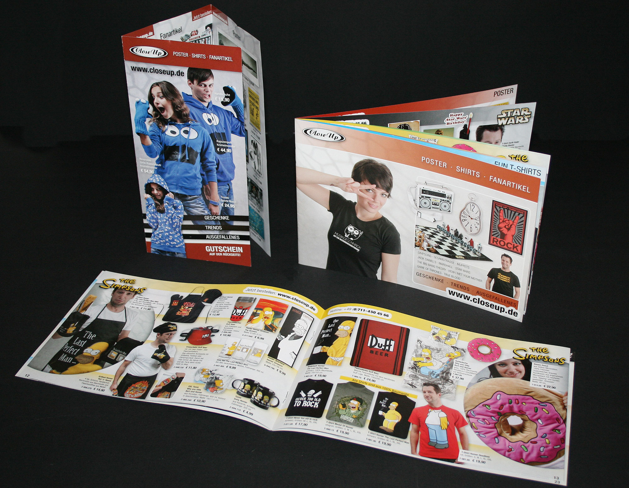 Mini catalogue & flyer