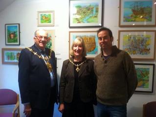 Mayor visits.