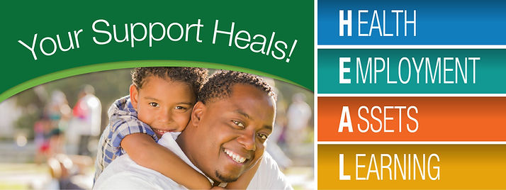 Your Support Heals!