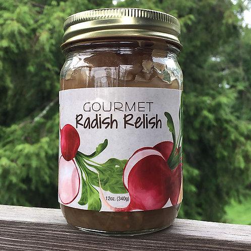 Gourmet Radish Relish