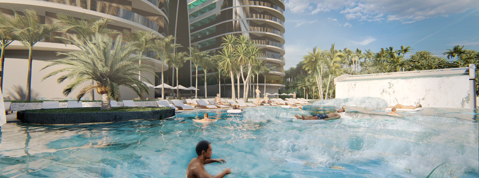 Wave Pool ในคอนโด
