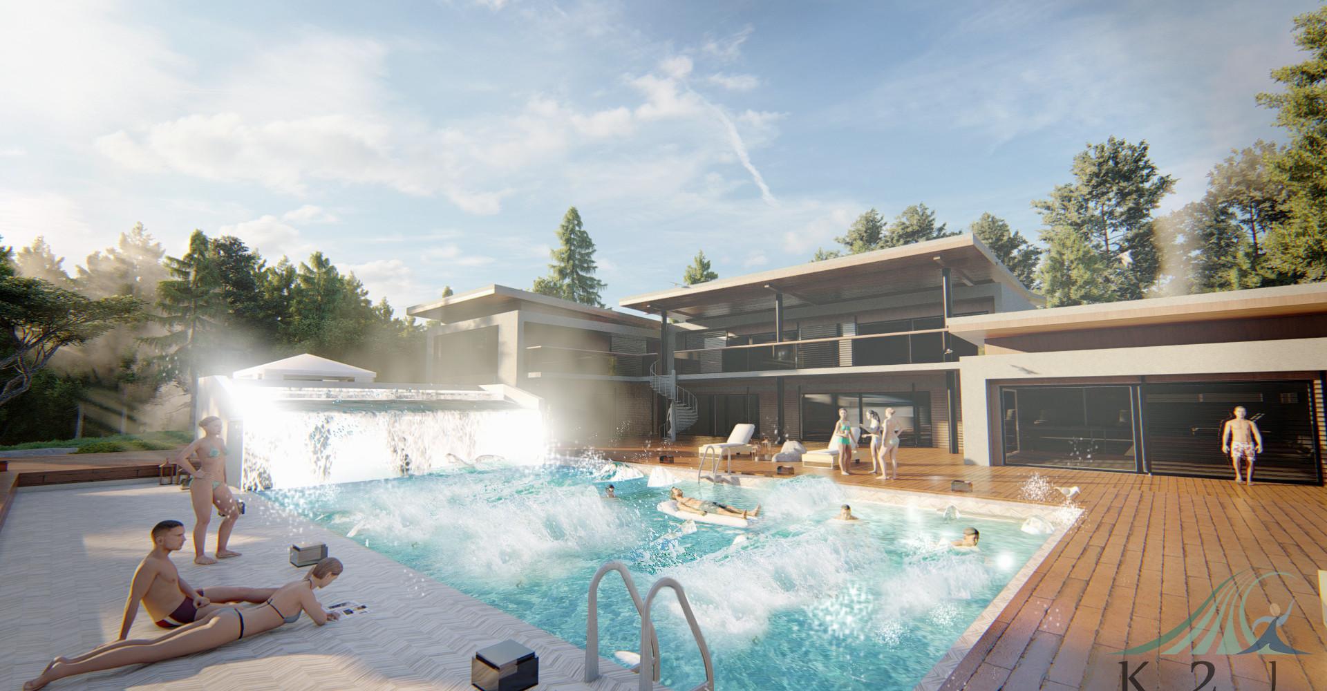 Wave pool ในบ้าน