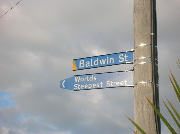 Baldwin street, New Zealand