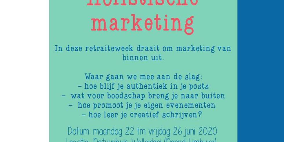 Schrijfretraite Holistische Marketing