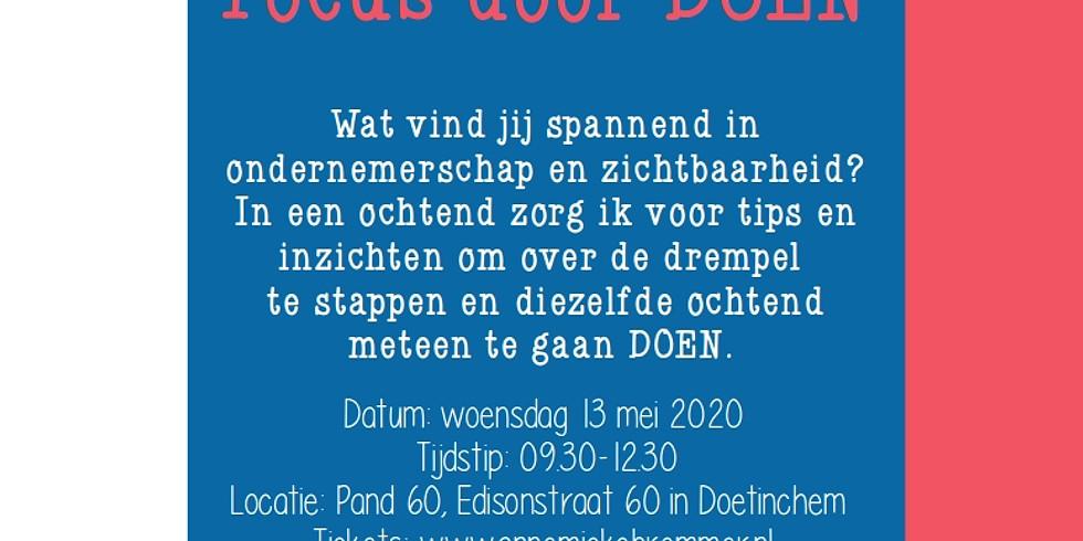 Focus door DOEN